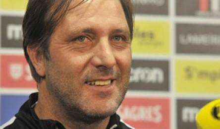 Pedro Martins assumiu esta sexta-feira que o objetivo do Vitória é disputar  a final four da Taça da Liga. O técnico garantiu por isso 3baef1d04c1f5